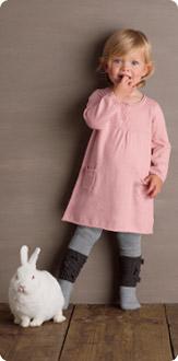 Vestido algodón y cachemir