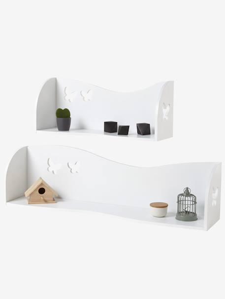 Estanter a para pared mariposas blanco vertbaudet - Vertbaudet estanterias ...