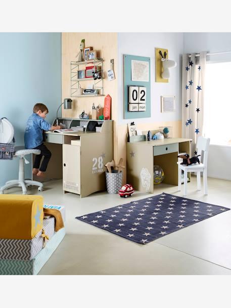 Silla de escritorio con ruedas estrellas gris vertbaudet for Ruedas para sillas de escritorio