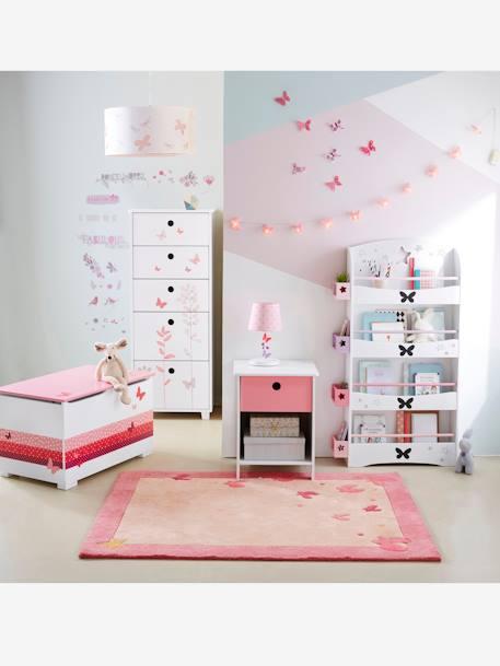 pegatinas habitaci n secreta rosa vertbaudet