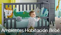 Ambientes de habitación bebé