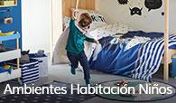Ambientes de habitación niños