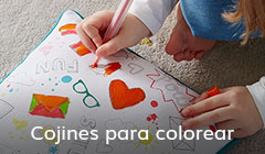 Cojines para colorear