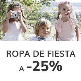 Ropa de fiesta a -25%