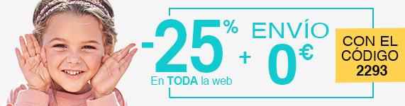 Ventas Flash -25 % en toda la web + Envío 0€