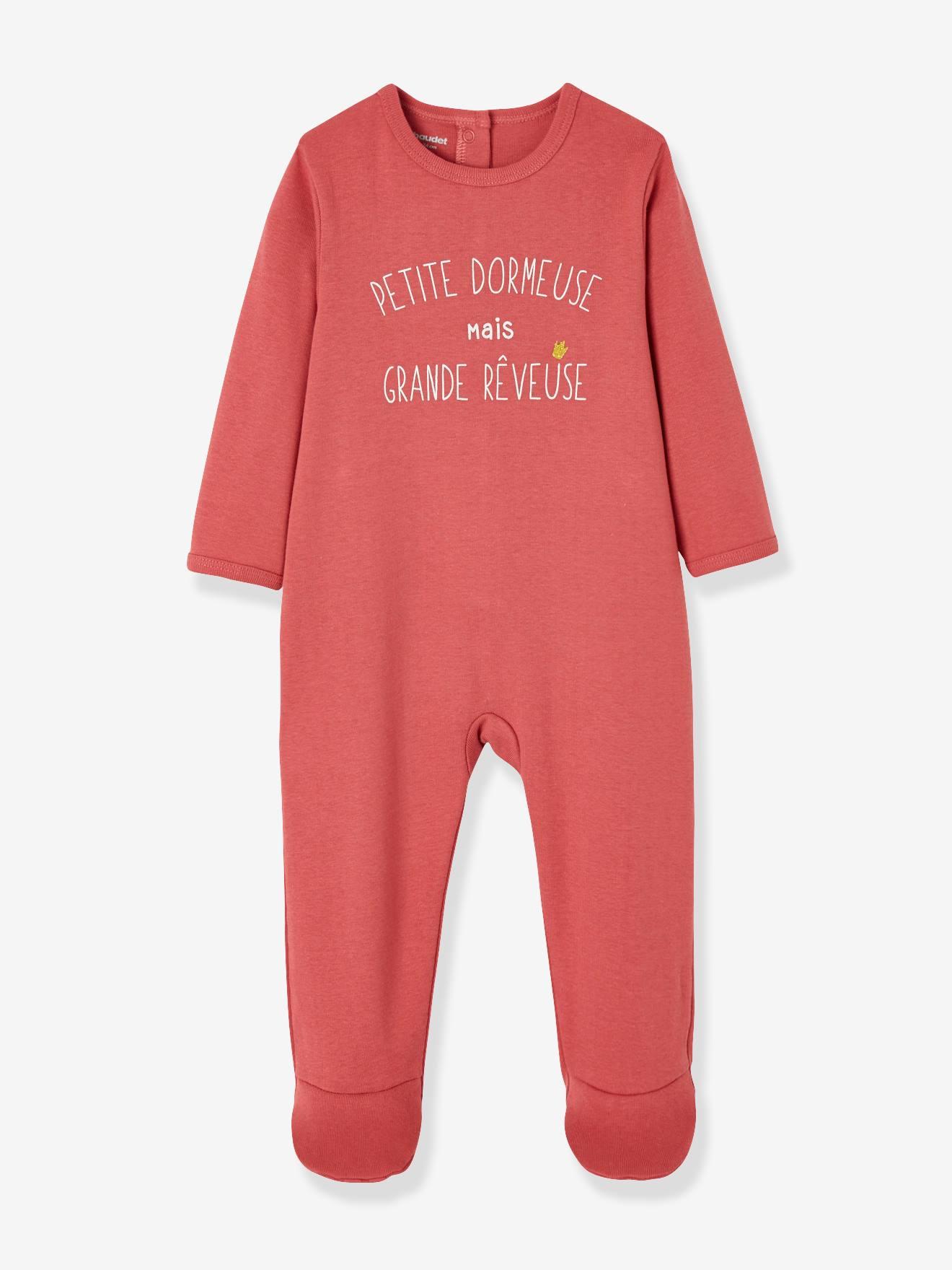 VERTBAUDET Lote de 3 pijamas para beb/é de terciopelo con autom/áticos detr/ás GRIS OSCURO BICOLOR//MULTICOLOR 18M-81CM