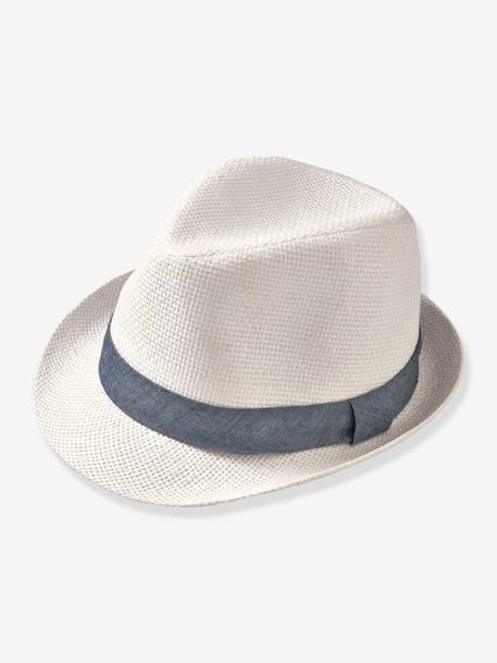 Sombrero de fiesta para niño marfil - Vertbaudet 83228fff467