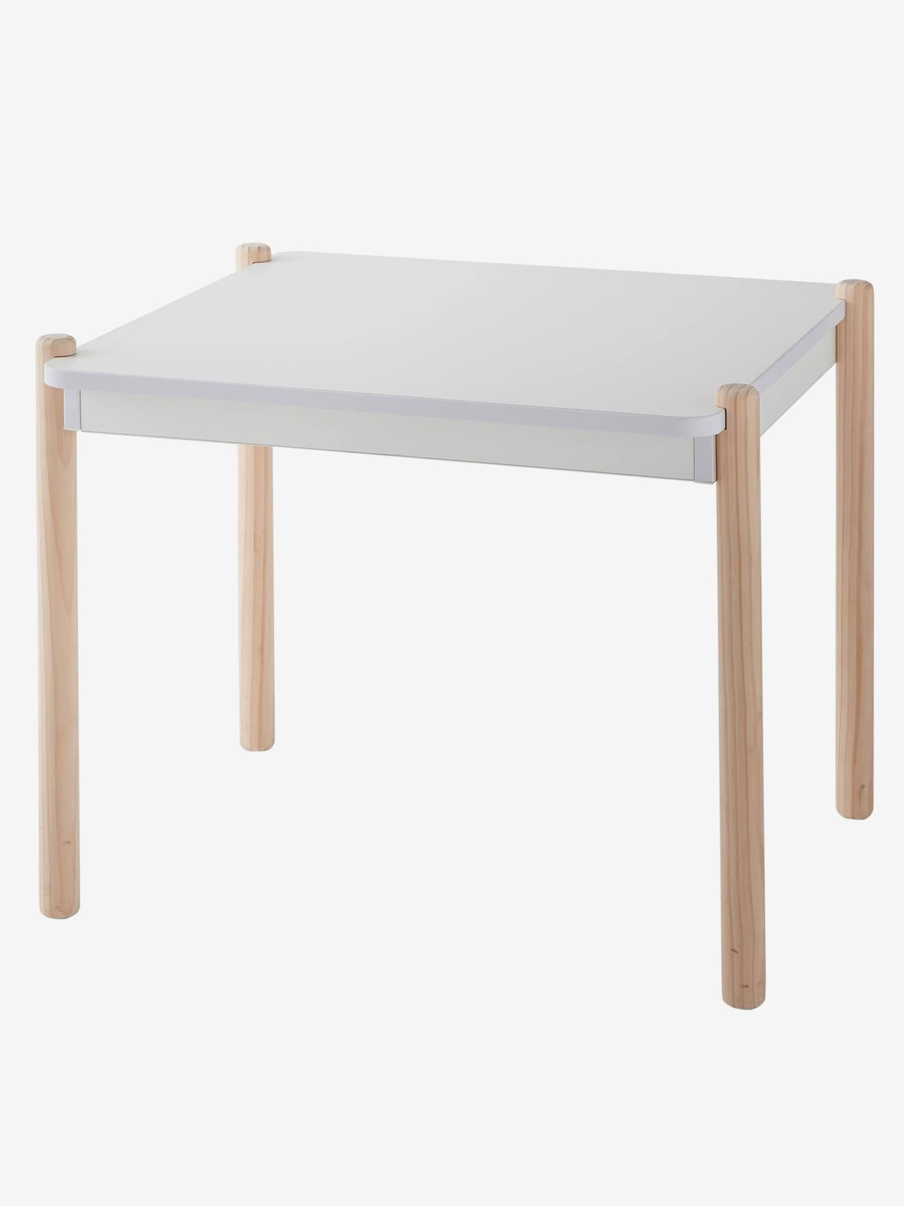 mesa y sillas niños madera vertbaudet