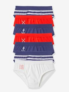 Niño-Ropa interior-Lot de 7 slips