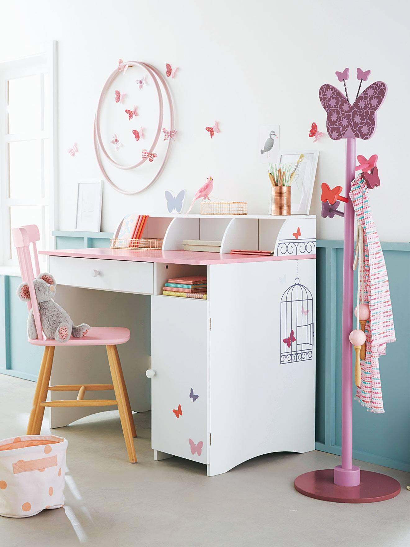 Lote de 14 mariposas decorativas niña multicolor - Vertbaudet