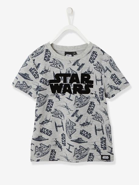 b331241aa Camiseta de manga corta Star Wars® niño gris jaspeado - Star Wars