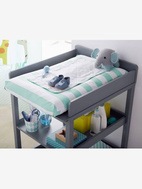 Mesa cambiador beb blanco vertbaudet - Cambiador pared bebe ...