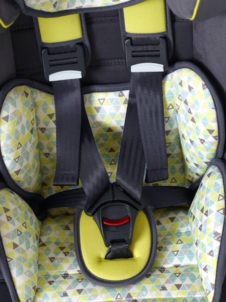 Silla de coche vertbaudet kidsit isofix grupo 1 2 3 gris for Sillas coche bebe isofix grupo 1 2 3
