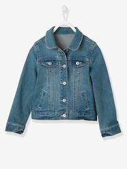Chaqueta vaquera denim stretch niña
