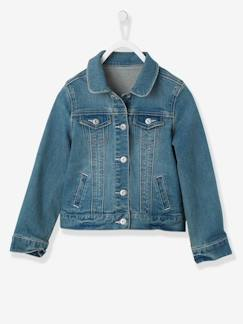 Happy Week-Chaqueta vaquera denim stretch niña