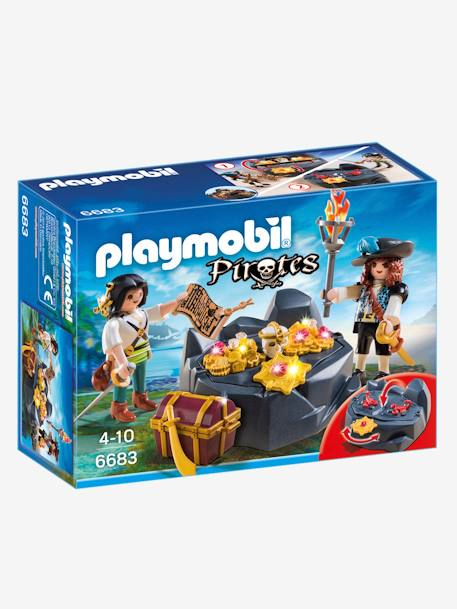 6683 Escondite del tesoro pirata Playmobil Pirates Marron medio bicolor/multicolo