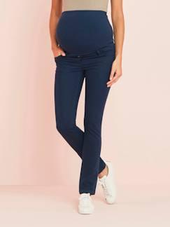 fdc77dd68 Premamá-Pantalón slim para embarazo de tejido stretch con entrepierna 78 cm