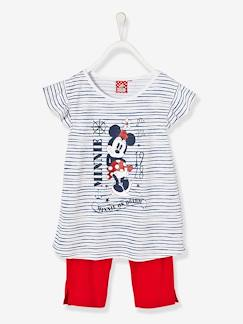 Marcas Mickey, Mini, StarWars e Frozen-Pijama estampado con short niña Minnie®