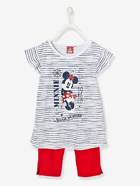 Niña-Pijamas-Pijama estampado con short niña Minnie®