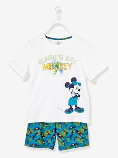Marcas Mickey, Mini, StarWars e Frozen-Pijama estampado con short niño Mickey Mouse®