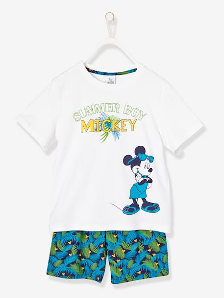 Pijamas-Pijama estampado con short niño Mickey Mouse®
