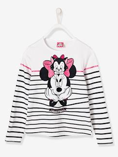 Marcas Mickey, Mini, StarWars e Frozen-Camiseta para niña Minnie® a rayas