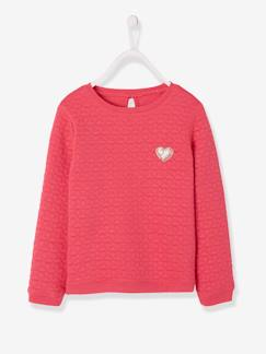 Happy Week-Sudadera de felpa con relieve niña