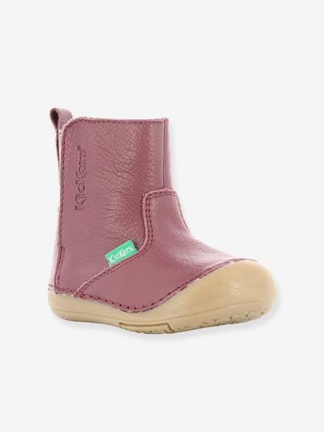 755e4f613ee Botas para bebé niña Socool KICKERS® rosa oscuro liso - Kickers
