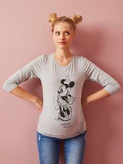Marcas Mickey, Mini, StarWars e Frozen-Camiseta de embarazo Minnie®