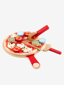 Happy Week-Juguetes-Set de pizza de madera
