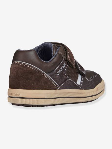 Zapatillas para niño Arzach Boy Low GEOX® MARRON OSCURO A RAYAS