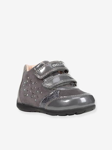 84baeadb Zapatillas de caña alta para bebé niña Kaytan Low GEOX® GRIS OSCURO LISO