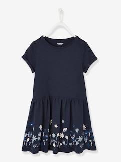 9cfa592efb Vestido de manga corta para niña