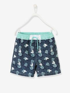 Marcas Mickey, Mini, StarWars e Frozen-Bañador short Mickey® estampado