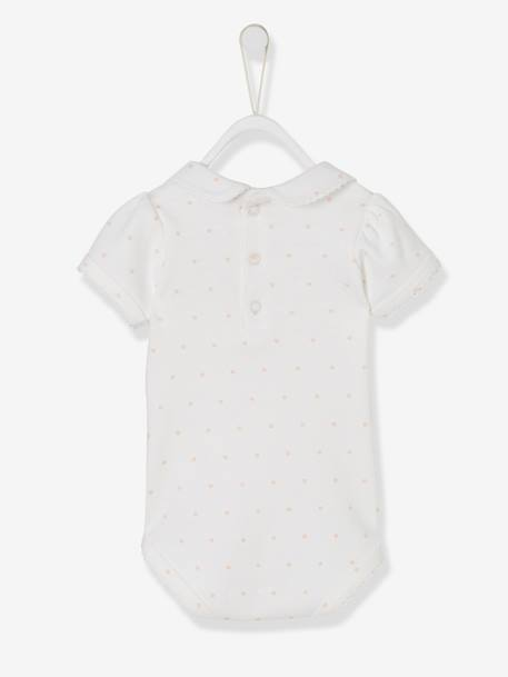 Body Minnie® estampado cuello Peter Pan Blanco claro estampado