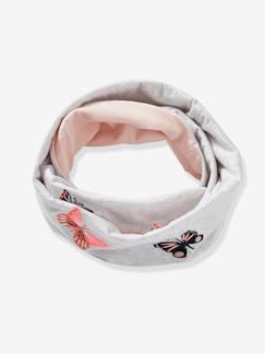 66045dec688fe Snood para niña con mariposas bordadas