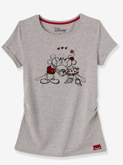 Marcas Mickey, Mini, StarWars e Frozen-Camiseta para embarazo Minnie® estampada
