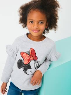 Marcas Mickey, Mini, StarWars e Frozen-Sudadera Minnie® manga larga con volante