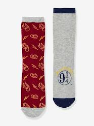 Lote de 2 pares de calcetines Harry Potter®