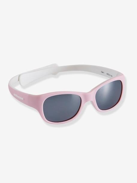 lo último fd3b7 ba90f Gafas de sol para bebé rosa medio liso - Vertbaudet
