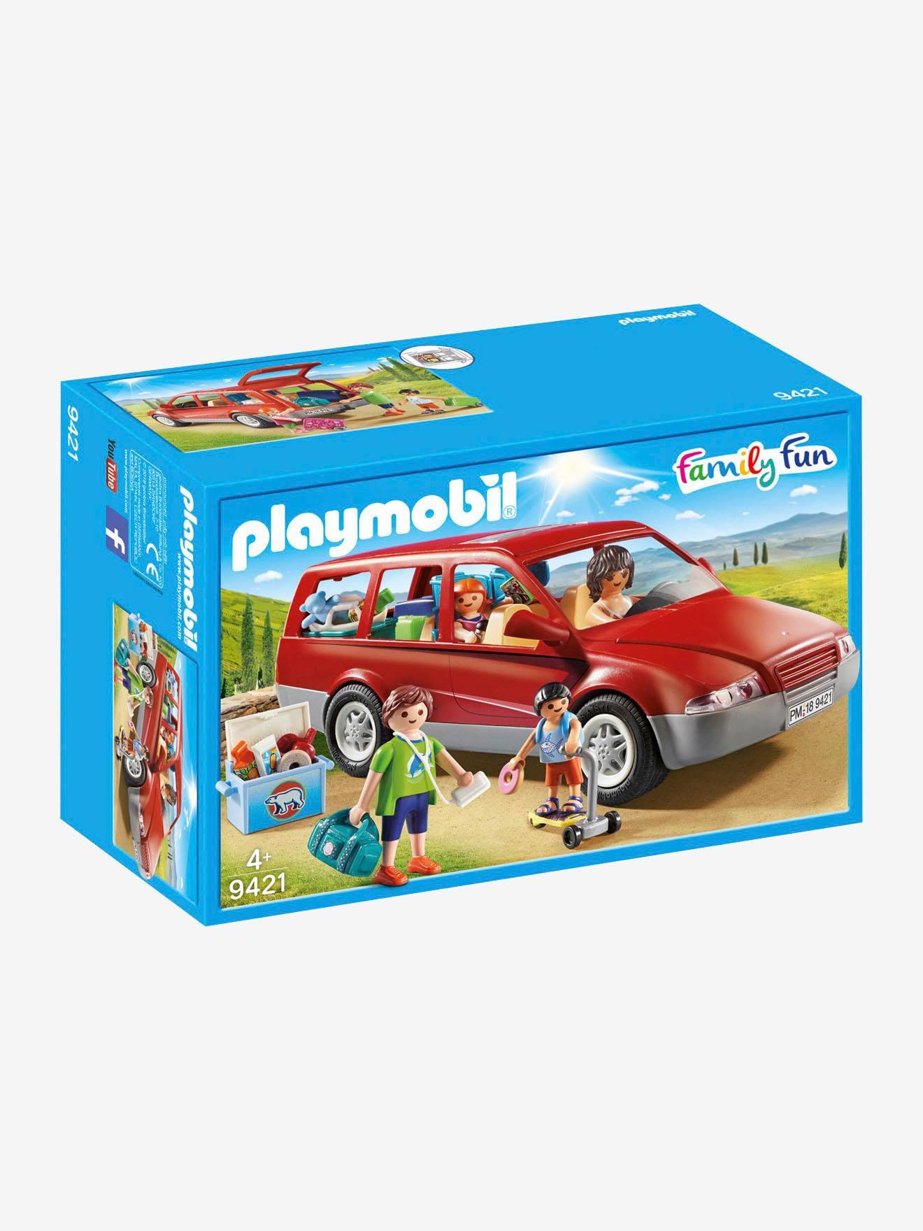9421 Coche Rojo Medio Playmobil Liso Familiar 0wOPnZN8kX