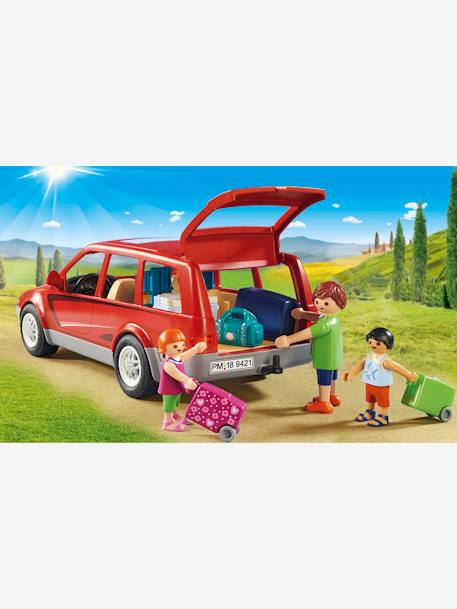 9421 Coche familiar Playmobil ROJO MEDIO LISO