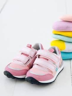 da684e08f7cc Calzado-Zapatillas deportivas estilo running con tiras autoadherentes bebé  niña