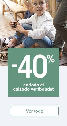 -40% en todo el calzado vertbaudet