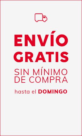 ENVÍO GRATIS SIN MÍNIMO DE COMPRA hasta domingo (12/07)