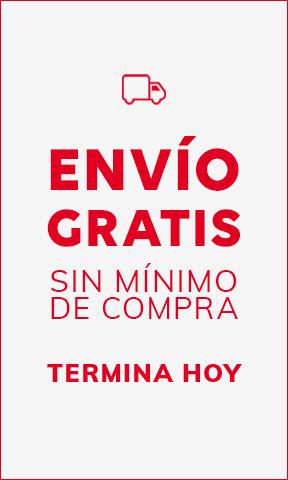 ENVÍO GRATIS SIN MÍNIMO DE COMPRA TERMINA HOY
