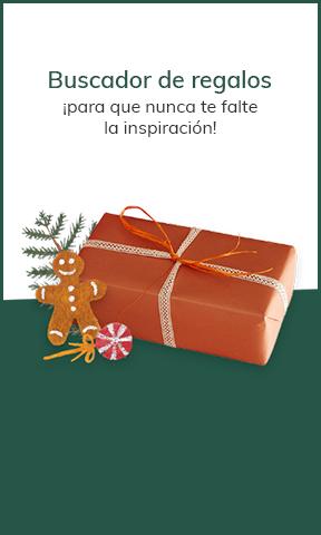 Buscador de regalos ¡para que nunca te falte la inspiración!