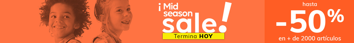 Mid-season sale hasta -50%